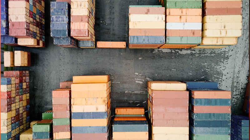 Wirtschaft, 2019, Politik, EU, Eurozone, Container