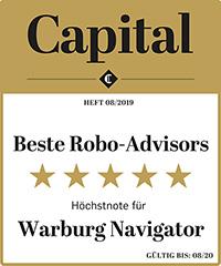 Capital Siegel 5 Sterne Warburg Navigator